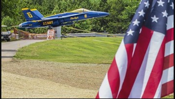 Capt. Jeff Kuss' parents visit Blue Angel crash site: 'It was just so beautiful to see what he saw,