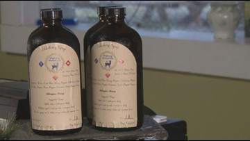 Local Knox County mom helps fill demand for elderberry syrup with family recipe