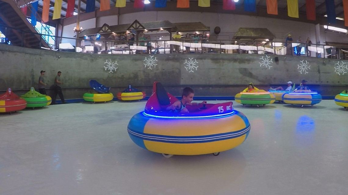 Wbir Weather And News >> Ice bumper cars and other summer attractions at Ober Gatlinburg | wbir.com