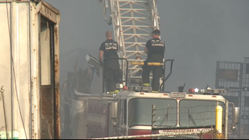 State environmental authorities to inspect site of massive recycling center fire