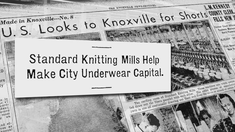 Standard Knitting underwear capital of the world