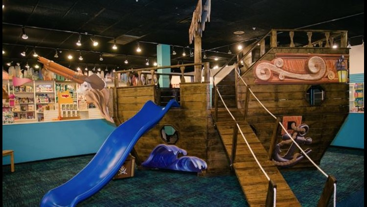 """The Knoxville toy store is hopping aboard a recently popular trend by hosting its own """"pay your age"""" day for children to play on its interactive playground."""