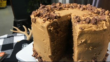 Coffee & Toffee Cake