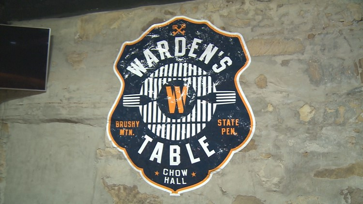 Take a seat for a southern cooked meal at The Warden's Table restaurant.