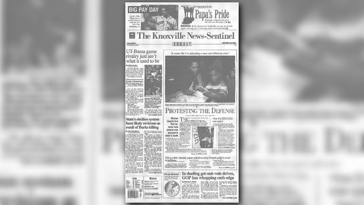 Knoxville News Sentinel - Oct. 24, 1998