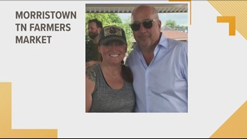 Chef Andrew Zimmern surprises local farmers