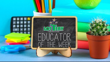 Nominate a teacher for Educator of the Week