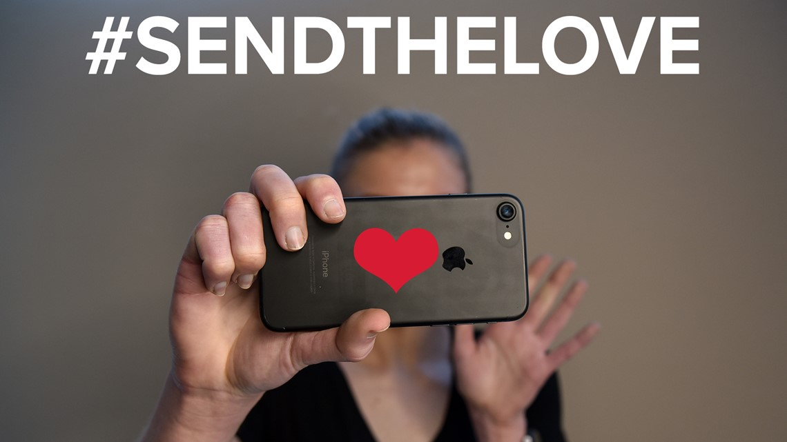 We want to help you #SendTheLove to your friends, family
