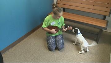 10 Rising Hearts: Student serenades animals at the Humane Society