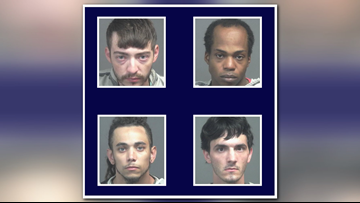 Blount County officers arrest six people in multiple traffic