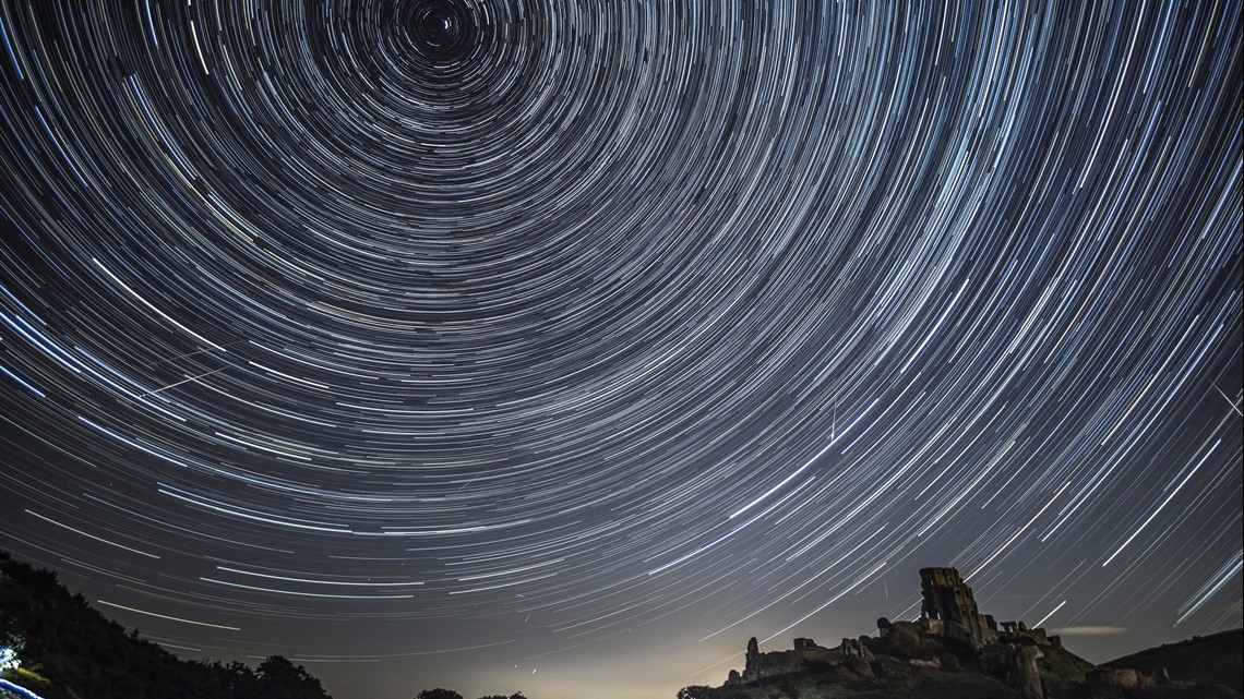 Look to night sky in August for the Perseid Meteor Shower peak and Full Sturgeon Moon!