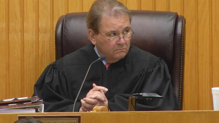 Judge Bob McGee presided over the two-week trial.