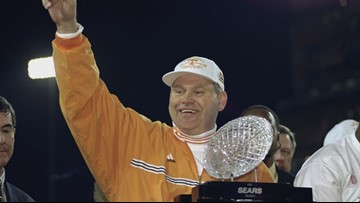 Clad in Big Orange: The Synergy Stick leads Tennessee to the Promised Land