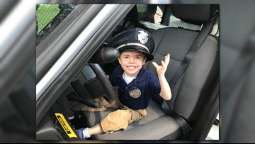 Pay It Forward: Clinton Police Officer makes child's dream come true