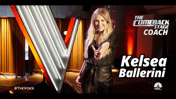 Kelsea Ballerini will be 5th coach on 'The Voice' in companion series