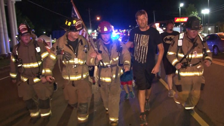 Scott County man runs nearly 50 miles in full firefighter gear to pay  tribute to 9 11 victims 60a8829bb