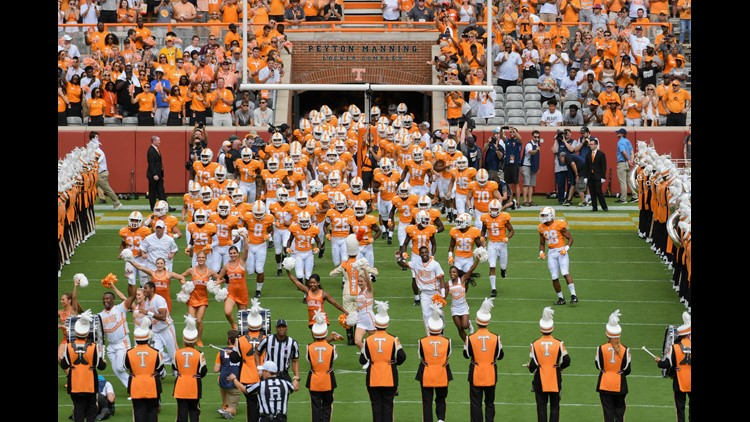 Photo gallery from Tennessee's 24-0 win over UTEP.