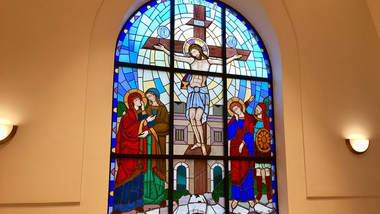 St. George Greek Orthodox Church Stained Glass