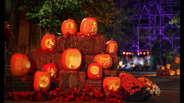 Dollywood's Great Pumpkin LumiNights 2019 Harvest Festival underway