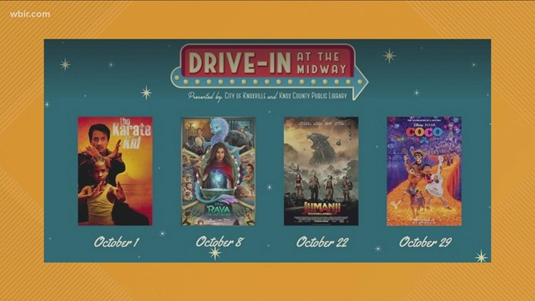 Drive-in at the Midway lineup announced