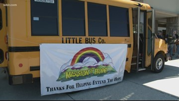Mission of Hope holds annual Pack The Bus campaign