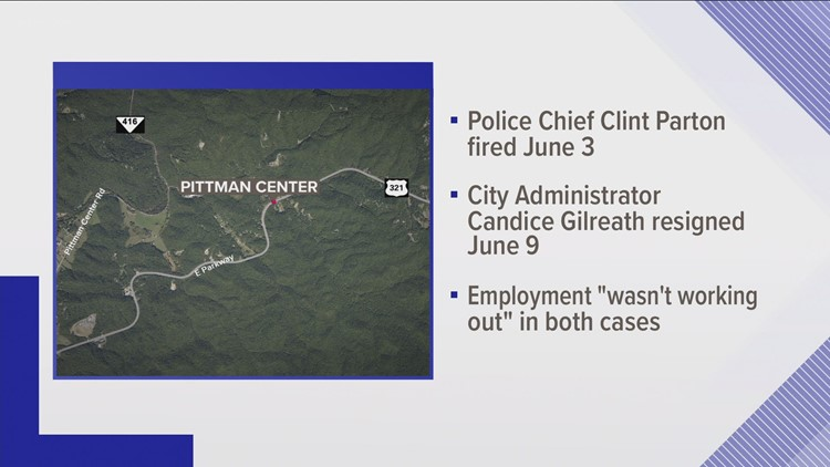 Pittman Center fires police chief, city administrator after police truck purchase