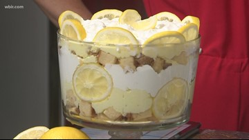 Too pretty to eat? Nah! Try this lemon trifle recipe