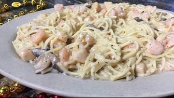 Bayou Bay Seafood Pasta