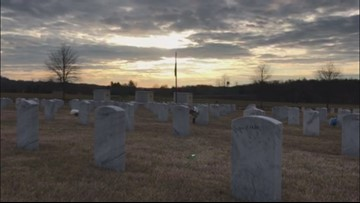 Volunteers, supporters pay final respects and bury remains of unclaimed Vietnam veterans