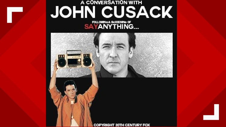 Actor John Cusack coming to Knoxville to talk about his '80's hit 'Say Anything'