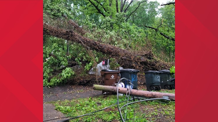 Severe weather causing damage, power outages across Tennessee; 1 person killed in West TN