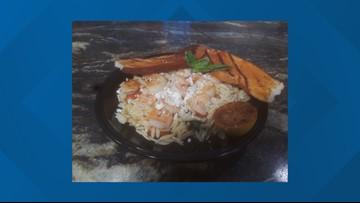 Shrimp and Scallop Greko  recipe from The Front Porch