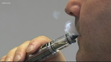 Tennessee Dept. of Health asks providers to report vaping-associated respiratory illnesses