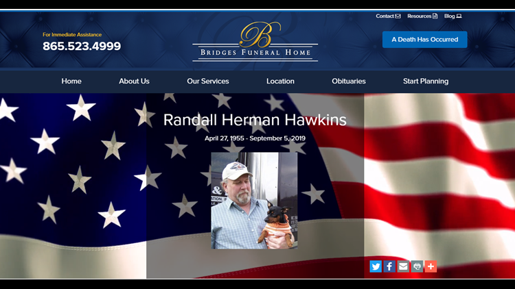 Randall Herman Hawkins