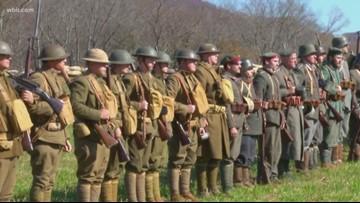 WWI reenactors bring war, armistice to life