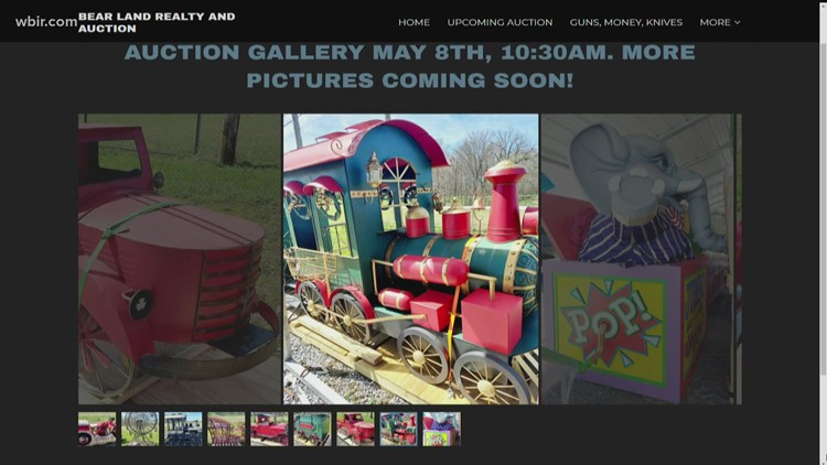 Dollywood liquidation auction scheduled for May 8