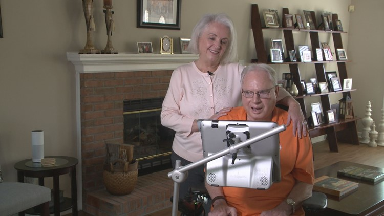 Kathy and Bayard Erskine have been married for 35 years