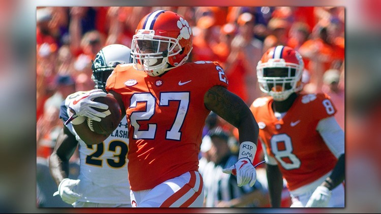 Former Clemson running back C.J. Fuller is dead