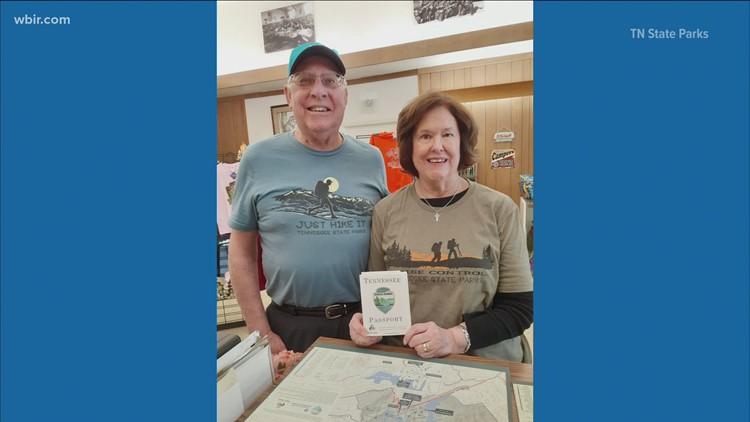Couple visits all 56 Tennessee State Parks