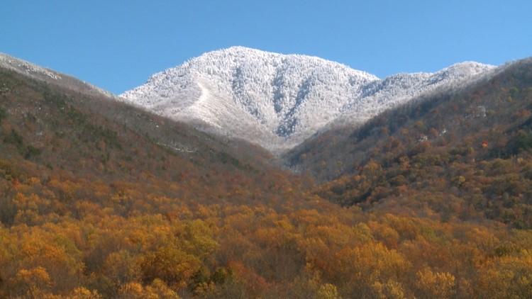 Mount LeConte Snow Superstorm Sandy 2013 October