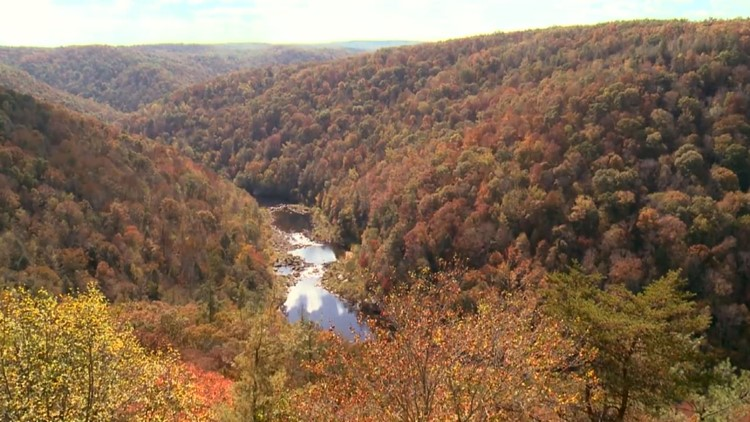 2016 Big South Fork Fall Colors Foliage