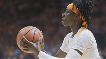 Lady Vols' Rennia Davis named the SEC player of the week