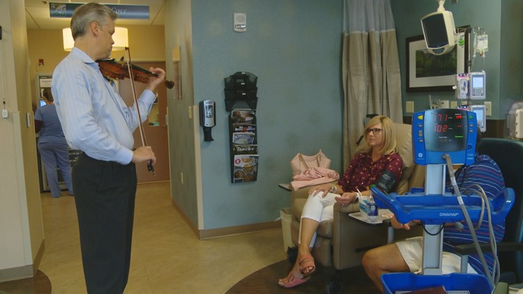 Knoxville violin player is one of five people to receive national award for community service