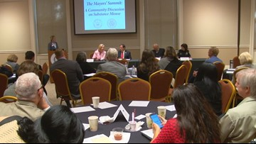 Mayors host summit to discuss opioid epidemic