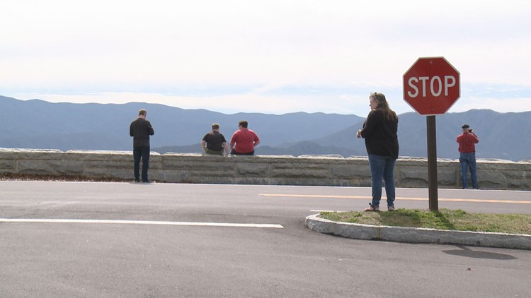 Visitors Overlooks Foothills Parkway West Great Smoky Mountains GSMNP