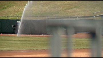 Smokies bring in new grass for next season