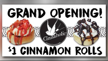 New vegan cinnamon roll restaurant opening in Knoxville, offering $1 treats