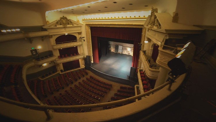The Bijou Theatre is more than 200 years old.