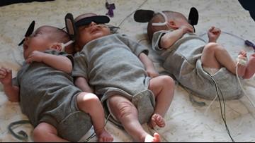 UT Medical Center NICU crafts Halloween costumes for babies