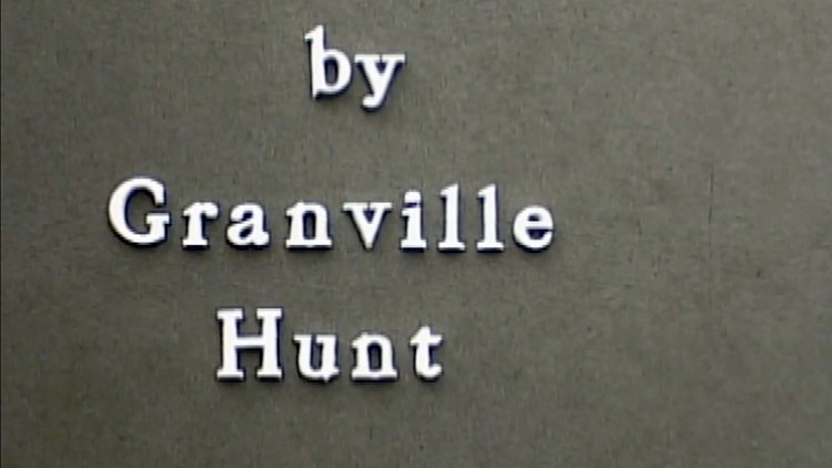 By Granville Hunt Signature Hunt for History